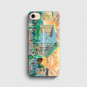 easter road going to the match  3D Phone case